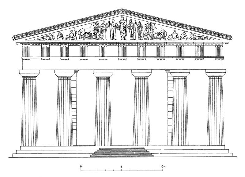 храмы греции фото и названия