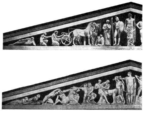 Олимпия. Храм Зевса.