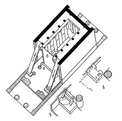 Олимпия. Храм Зевса. Схема