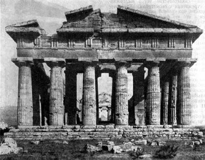 Особенности строения древнегреческого храма геры в одимпе