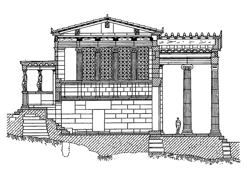 Архитектура древней греции афины