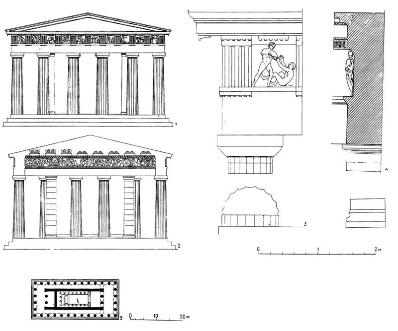 Афины. Храм Гефеста, или
