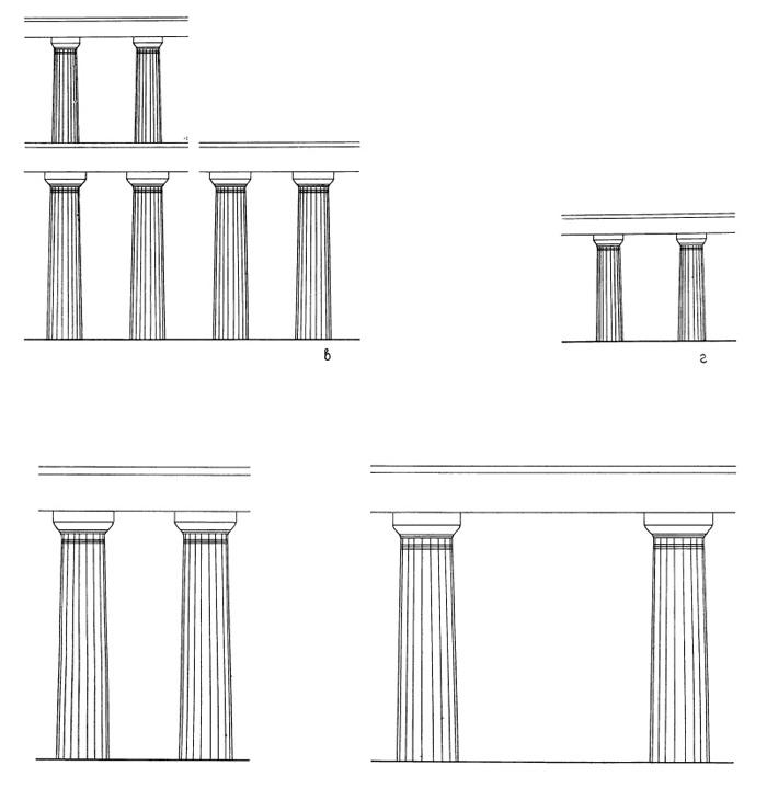Храм Зевса в Олимпии: а