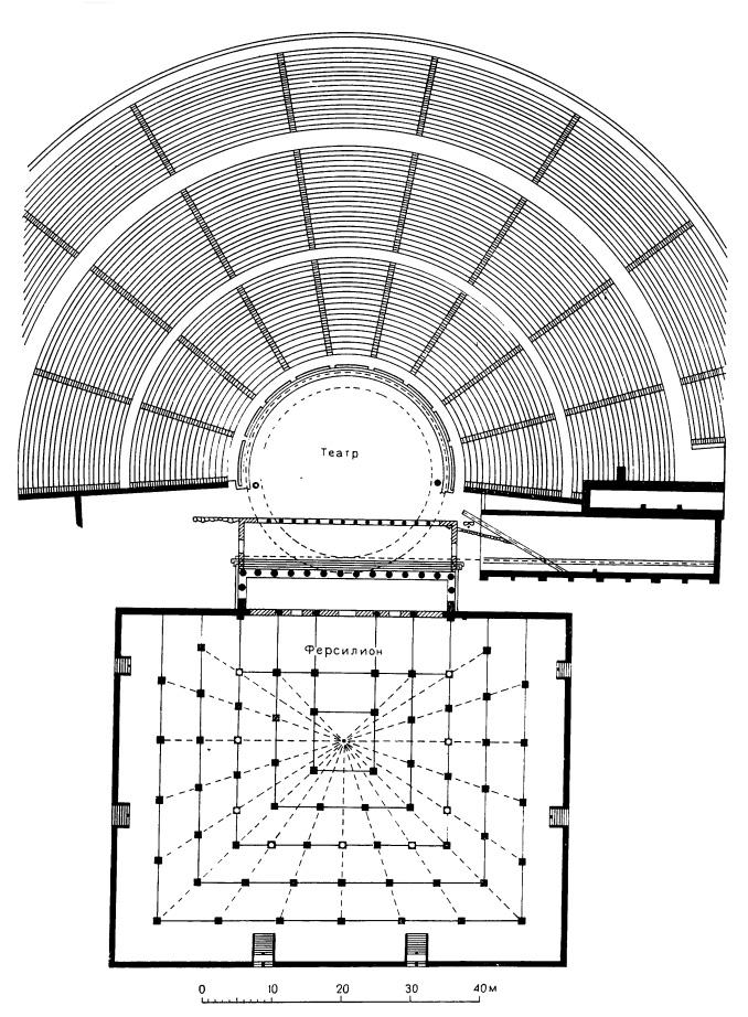 Мегалополь. Театр, около 350