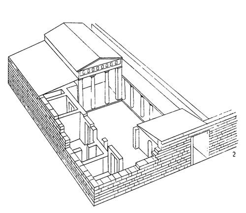Древнегреческие жилые здания