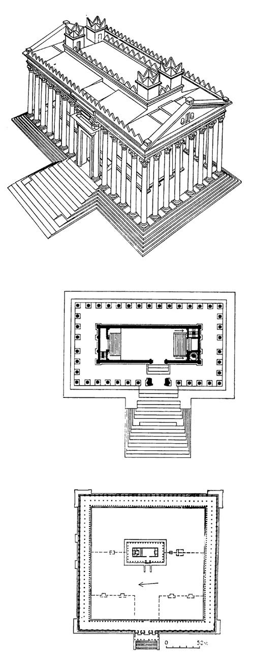 Реконструкция храма, план