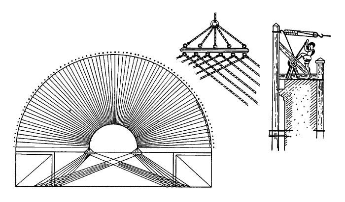 Схема устройства велария