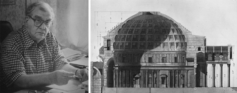 Пространство в архитектуре римской античности. Пантеон