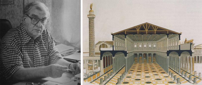 Пространство в архитектуре римской античности. Базилики