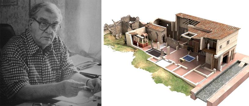 Пространство в архитектуре римской античности. Жилые постройки