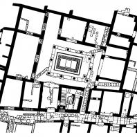 План дома на острове Делосе