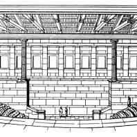 Булевтерий в Милете. Реконструкция