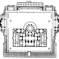 План терм Каракаллы