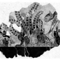 Кошка, подкрадывающаяся к фазану. Фреска из Агиа Триады. Середина 2 тысячелетия до н. э. Гераклейон. Музей