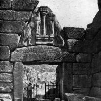 Львиные ворота в Микенах. 14 в. до н. э.