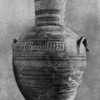 Дипилонская амфора. 9—8 вв. до н. э. Афины. Национальный музей