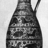 Коринфская ваза. Конец 7 — начало 6 в. до н. э. Париж. Лувр