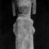 Артемида Делосская. Мрамор. Около 650 г. до н. э. Афины. Национальный музей