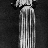 Дельфийский возничий. Бронза. Около 470 г. до н. э. Дельфы. Музей