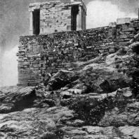 Калликрат. Храм Ники Аптерос. Между 449—421 гг. до н. э. Вид с юга