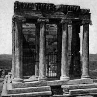 Калликрат. Храм Ники Аптерос. Вид с востока