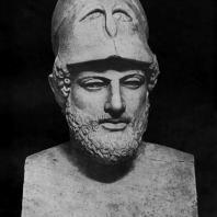 Кресилай. Портрет Перикла. Около 440 г. до н. э. Мраморная римская копия. Лондон. Британский музей