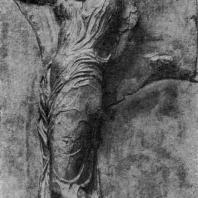 Ника. Рельеф балюстрады храма Ники Аптерос. Мрамор. Около 409 г. до н. э. Афины. Музей Акрополя