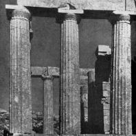 Иктин. Храм Аполлона в Бассах (Фигалии). Последняя треть 5 в. до н. э.