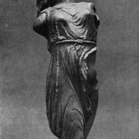 Скопас. Менада. Середина 4 в. до н. э. Уменьшенная мраморная римская копия с утраченного оригидала. Дрезден. Альбертинум
