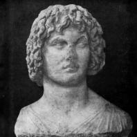 Голова Евбулея из Элевсина. Мрамор. Вторая половина 4 в. до н. э. Афины. Национальный музей