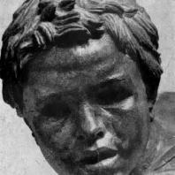 Мальчик на лошади. Фрагмент бронзовой статуи, найденной в море у мыса Артемисион. Конец 2 в. до н. э. Афины. Национальный музей