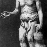 Старый рыбак. 2—1 вв. до н. э. Мраморная римская копия с утраченного оригинала. Рим. Ватикан