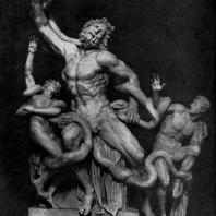 Агесандр, Полидор и Афинодор. Лаокоон. Мрамор. Около 25 г. до н. э. Рим. Ватикан