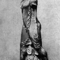 Скульптор Вулка. Статуя Аполлона из Вей. Глина. Около 500 г. до н. э. Рим. Вилла папы Юлия