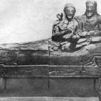 Саркофаг из Черветри. Глина. Около 500 г. до н. э. Рим. Вилла папы Юлия