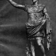 Статуя Августа с виллы Ливии в Прима Порта. Мрамор. Начало 1 в. н. э. Рим. Ватикан