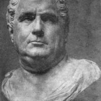 Портрет Вителлия. Мрамор. 68—69 гг. н. э. Париж. Лувр