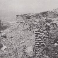 Акрокоринф. Оборонительные стены крепости. Фото: Анджей Дзевановский