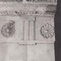 Эпидавр. Толос, часть реконструированного антаблемента. Музей. Фото: Анджей Дзевановский