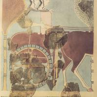Тиринф. Настенная живопись. XIII в. до н.э. Национальный музей в Афинах. Фото: Анджей Дзевановский