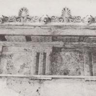 Эпидавр. Киматий и верхняя часть антаблемента святилища Артемиды. Музей. Фото: Анджей Дзевановский