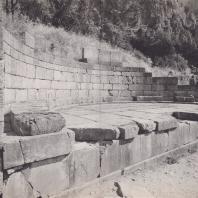 Дельфы. Монумент аргосских царей. Вид с юго-запада