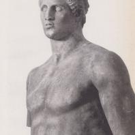 Дельфы. Статуя Агия с монумента Даоха