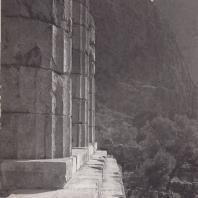Дельфы. Храм Аполлона. Вид с юго-востока
