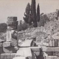 Дельфы. Храм Аполлона, северная сторона