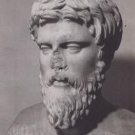 Дельфы. Портрет Плотина (?), мрамор, конец III в. н.э.