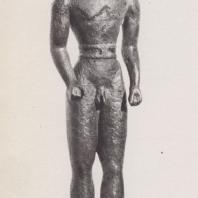 Дельфы. Мужская фигурка, бронза. Музей в Дельфах