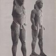Дельфы. Статуи Клеобиса и Битона (начало VI в. до н.э.) Музей в Дельфах