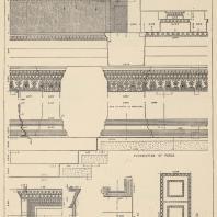 Таблица XVIII. Эрехтейон. Детали восточного портика