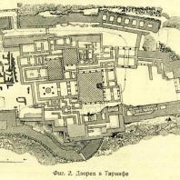 Фиг. 2. Дворец в Тиринфе